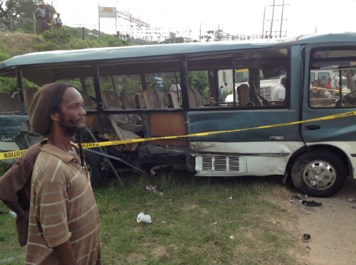 royal caribbean cruise line jamaica tour bus crash accident passengers killed injured